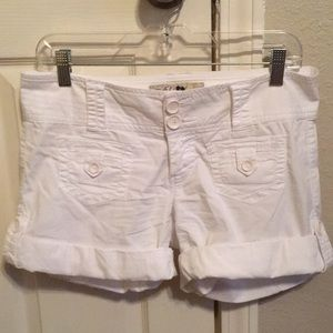 Used while shorts 97% cotton 3% spandex